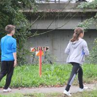 Pot na start je vodila ob Litijski cesti. slika